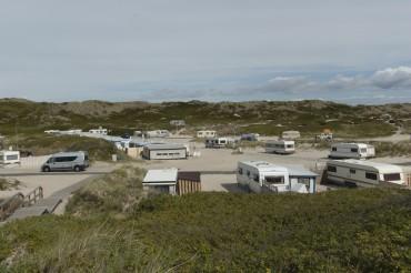 Hörnum camping site